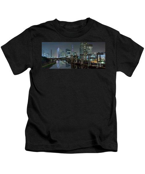 Sao Paulo Bridges - 3 Generations Together Kids T-Shirt