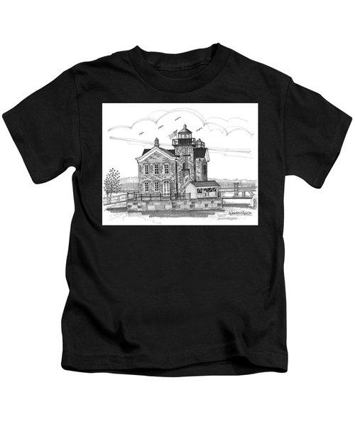 Saugerties Lighthouse Kids T-Shirt