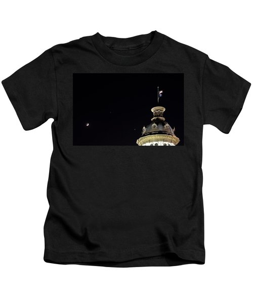 Sc State House Dome And Conjunction Kids T-Shirt