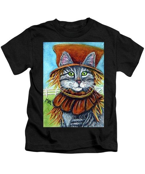 Scarecrow Tabby Kids T-Shirt