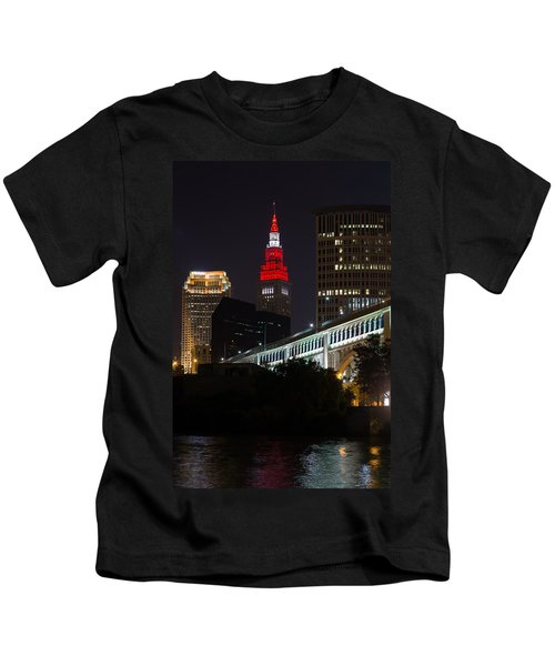 Scarlet And Gray Kids T-Shirt