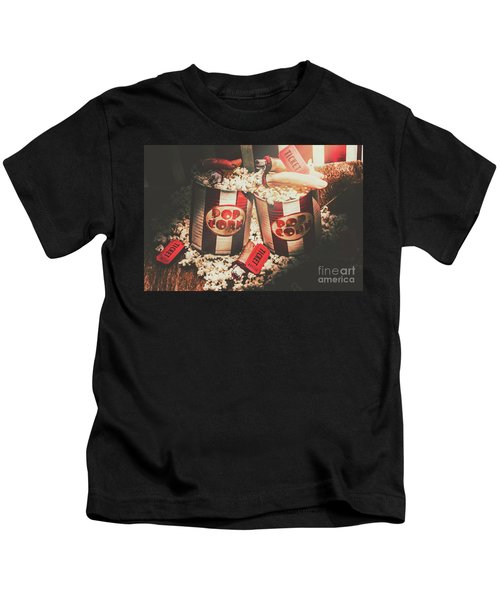 Scary Vintage Entertainment Kids T-Shirt