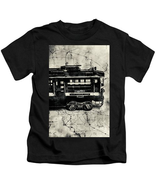 Scene From The Old Tramway Kids T-Shirt