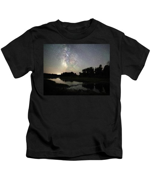 Schwabacher's Landing At Night Kids T-Shirt