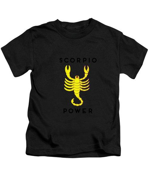 Scorpio Power Kids T-Shirt