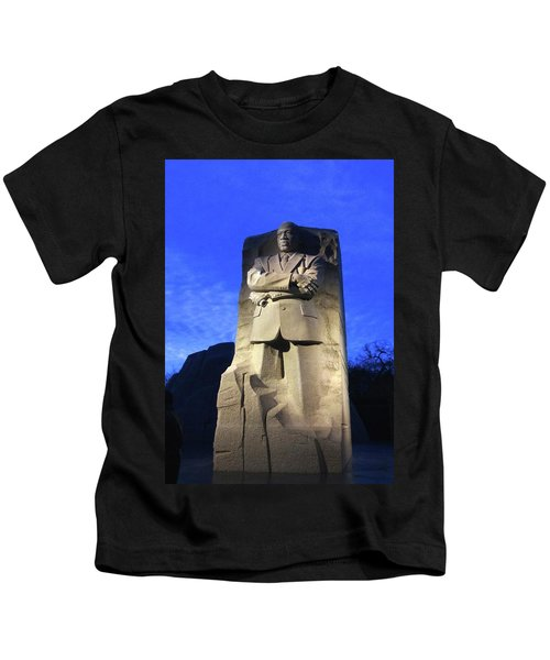 Sculptured Profile Martin Luther King Jr. Kids T-Shirt
