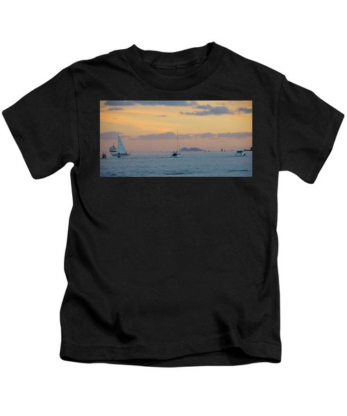 Sd Sumset 1 Kids T-Shirt