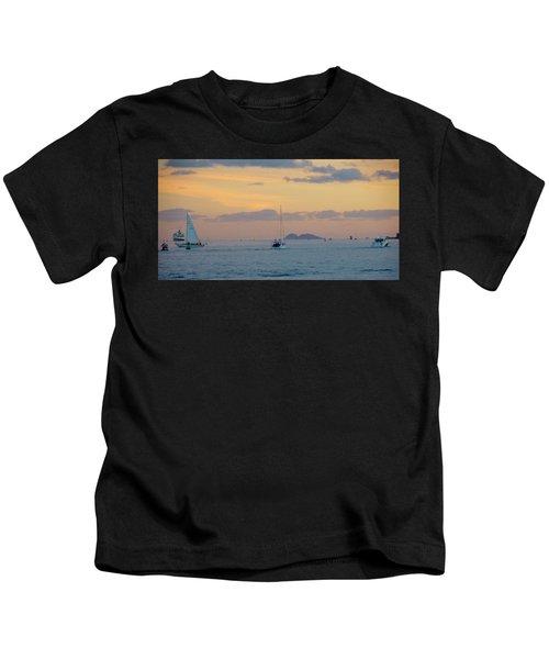 Sd Sumset 1 Kids T-Shirt