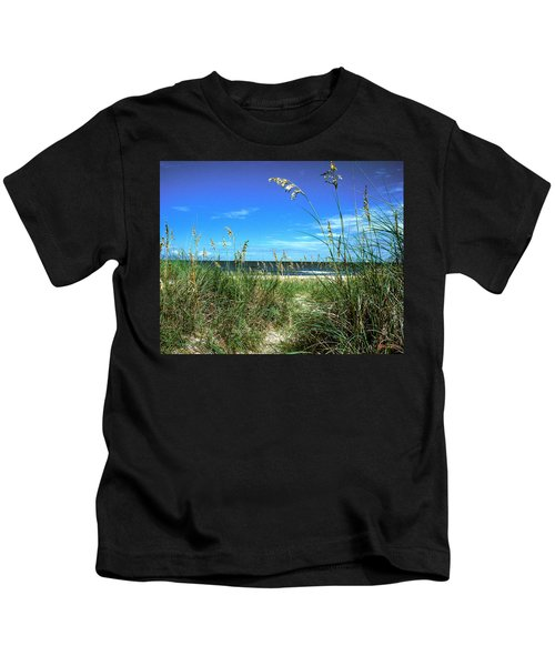 Sea Oat Dunes 11d Kids T-Shirt