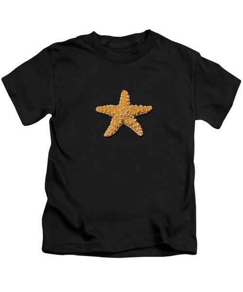Sea Star Orange .png Kids T-Shirt