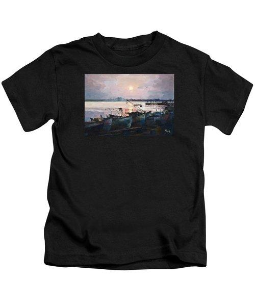 Sea Sunset Kids T-Shirt