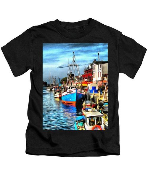 Seaport Warnemuende Kids T-Shirt