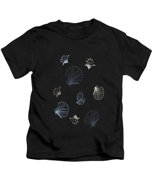 Seashell Pattern Kids T-Shirt