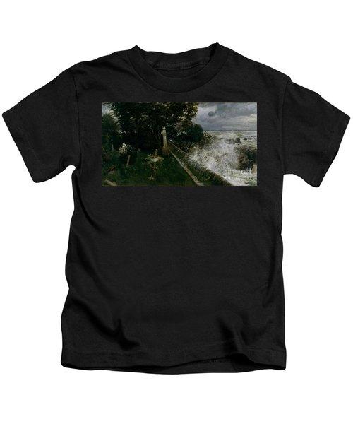 Seaside Cemetery Kids T-Shirt