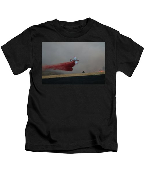 Seat Drops On Indian Canyon Fire Kids T-Shirt