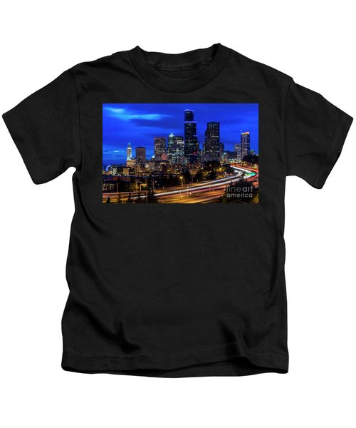 Seattle Skyline Kids T-Shirt