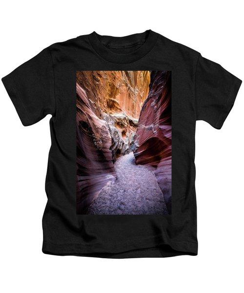 Secret Canyon 1 Kids T-Shirt