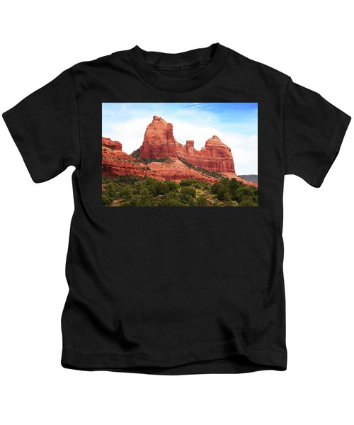 Sedona Arizona Monumental Rocks Kids T-Shirt