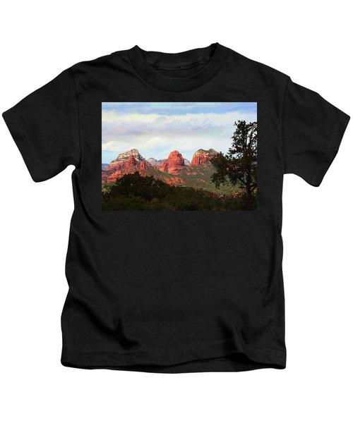 Sedona Arizona Mysterious Landscape Kids T-Shirt
