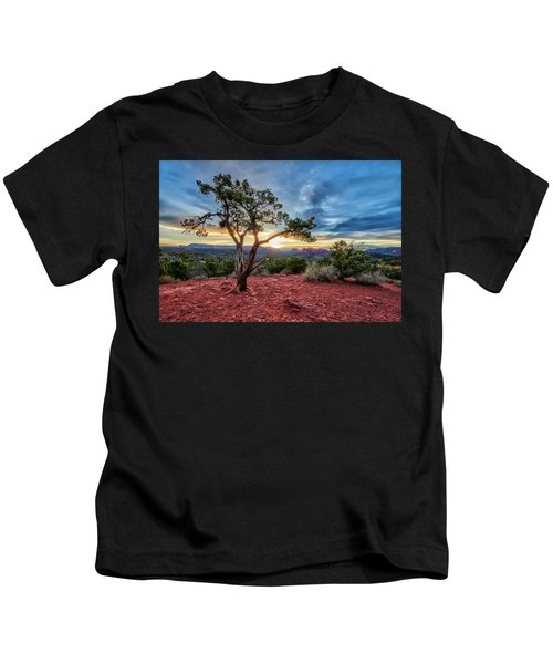 Sedona In The Morning Kids T-Shirt