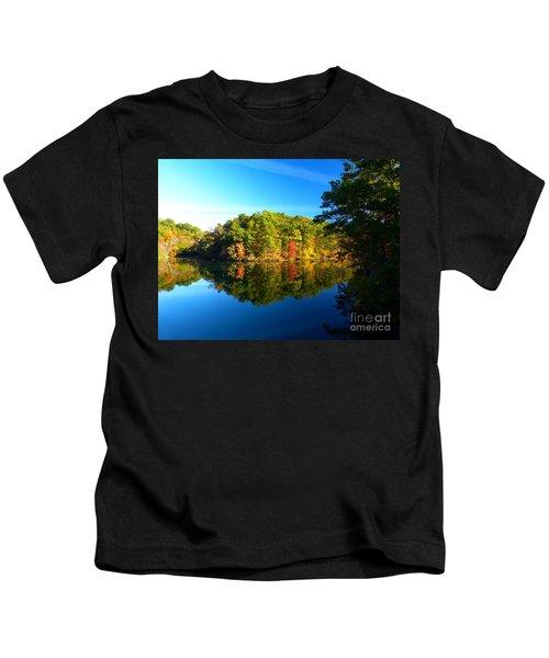 Seen From Kidds Schoolhouse Kids T-Shirt