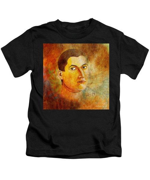 Selfportrait Oil Kids T-Shirt