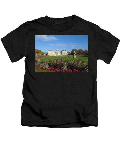 Senate From Jardin Du Luxembourg Kids T-Shirt