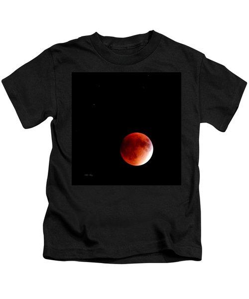 September Bloodmoon 2015 Kids T-Shirt