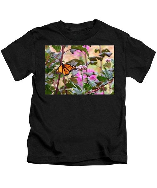 September Monarch Kids T-Shirt