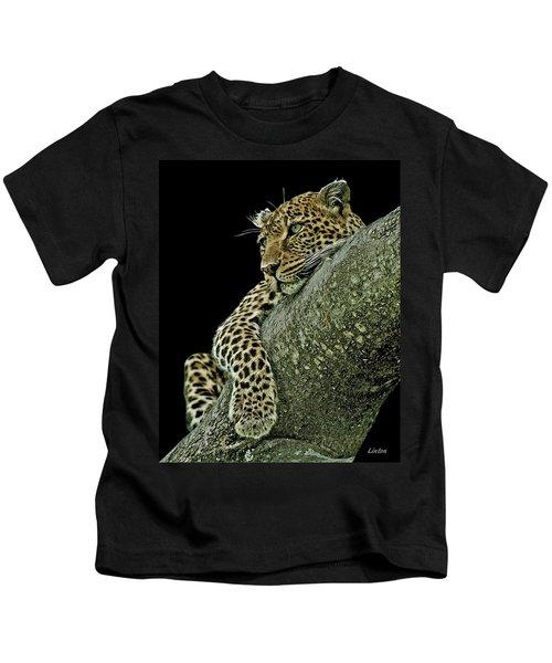 Serengeti Leopard 2a Kids T-Shirt