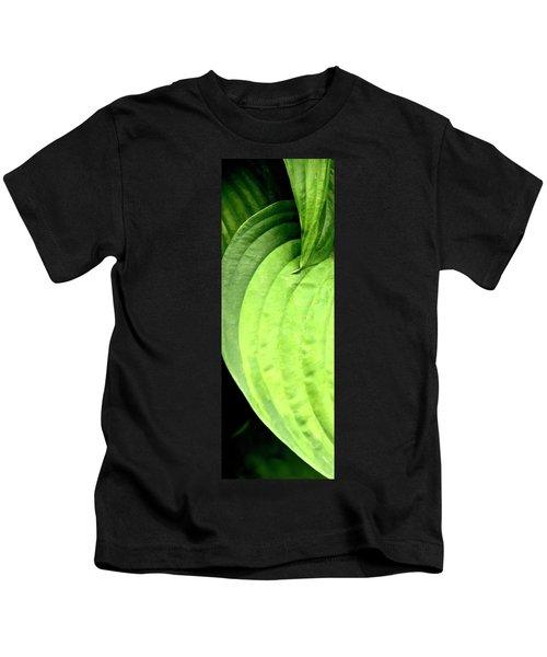 Shades Of Green Kids T-Shirt