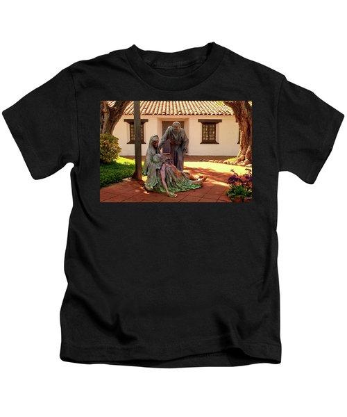 Shadow Of The Cross Detail Kids T-Shirt