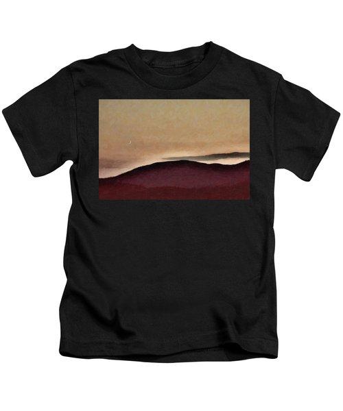 Shadows And Light Kids T-Shirt