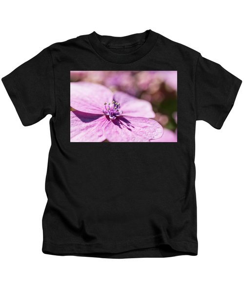 Shadows In Pink Kids T-Shirt