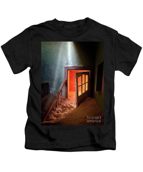 Shaft Of Light Kids T-Shirt