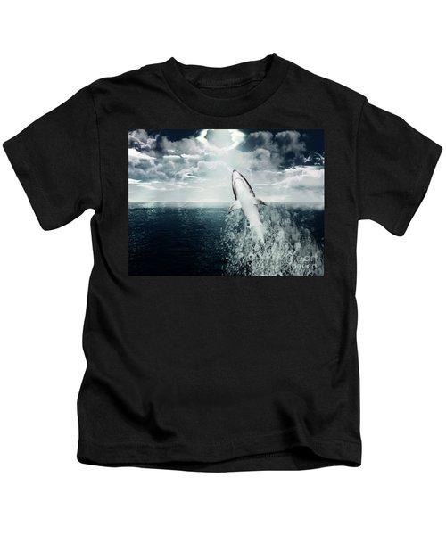 Shark Watch Kids T-Shirt