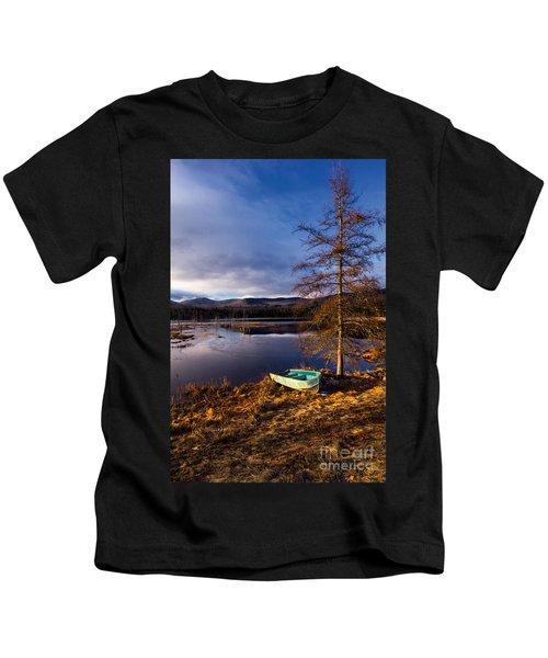 Shaw Pond Sunrise Kids T-Shirt