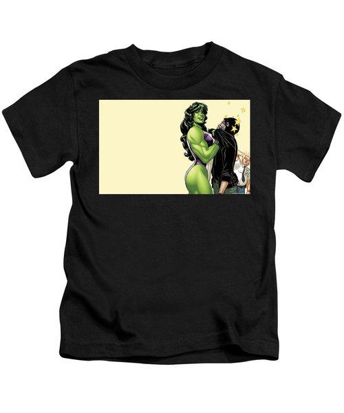 She-hulk Kids T-Shirt