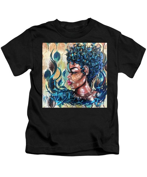 She Was A Cool Flame Kids T-Shirt