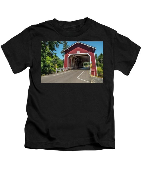 Shimanek Covered Bridge Kids T-Shirt
