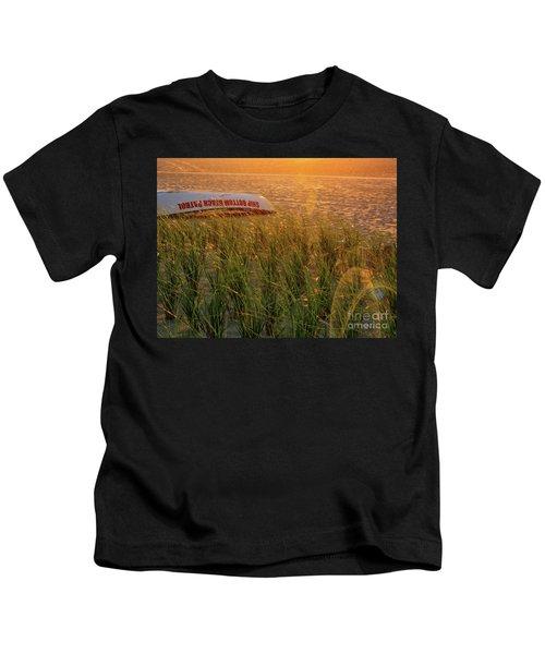 Ship Bottom Beach Patrol Kids T-Shirt