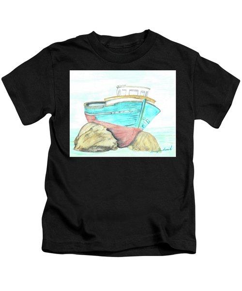 Ship Wreck Kids T-Shirt