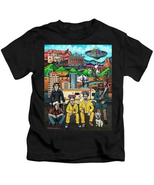 Shooting Stars In New Mexico Kids T-Shirt