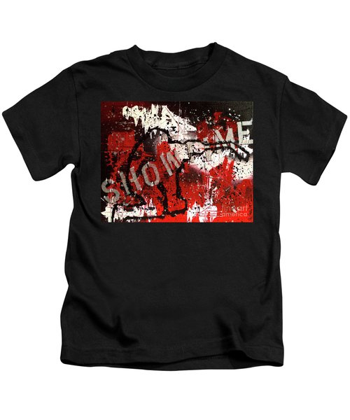 Showtime At The Madhouse Kids T-Shirt