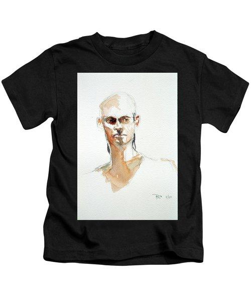 Side Glance Kids T-Shirt