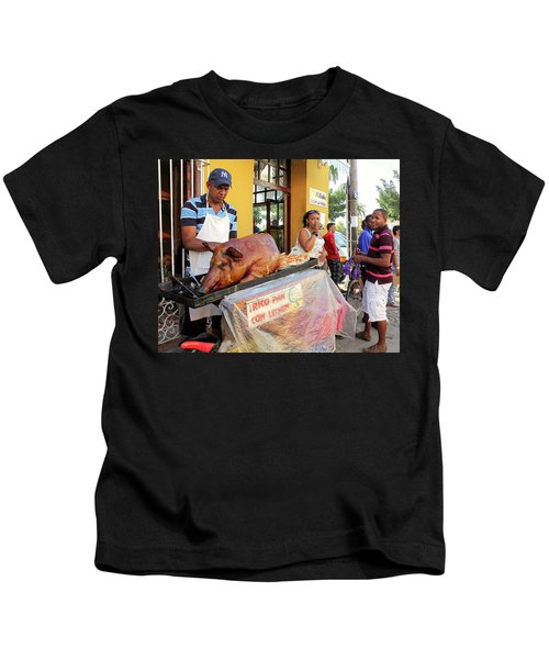 Sidewalk Cafe Kids T-Shirt