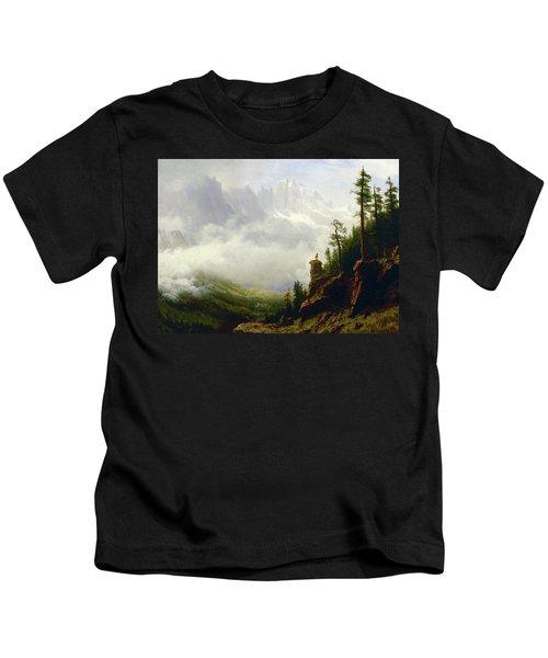 Sierra Nevada Mountains In California Kids T-Shirt