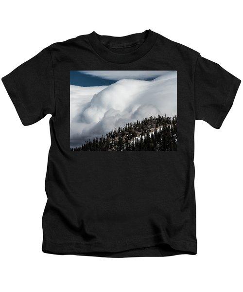 Sierra Stormclouds Kids T-Shirt