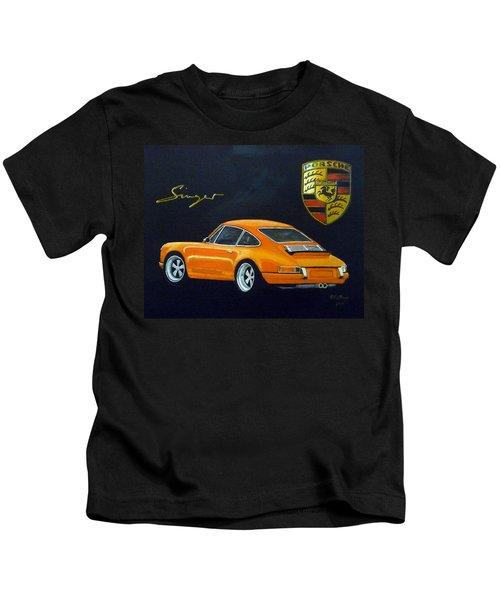 Singer Porsche Kids T-Shirt