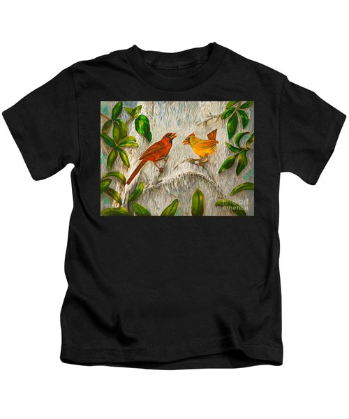 Singing Of Love Kids T-Shirt